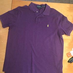 Ralph Lauren Purple Polo